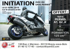 Initiation permis moto !