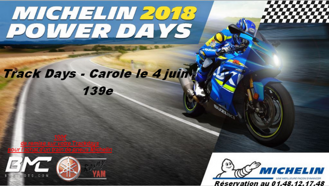 Michelin Power Days 2018